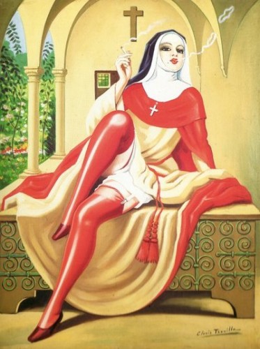 Clovis Trouille - Religieuse italienne.jpg