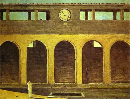 Giorgio de Chirico-The Enigma of the Hour 1911.jpg