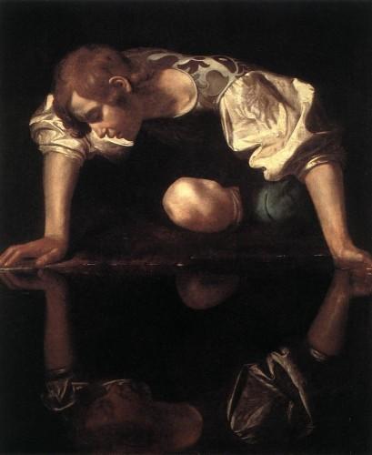 Michelangelo Merisi, dit Le Caravage (1571-1610) - Narcisse.JPG