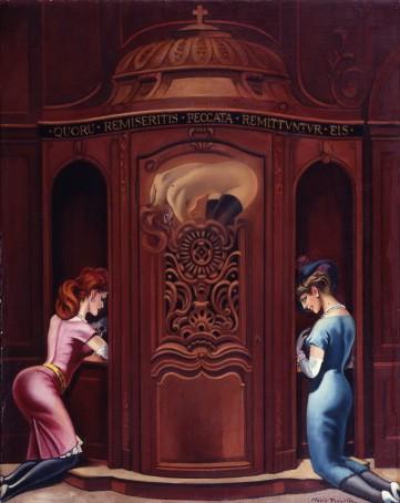 Clovis Trouille - Le confessionnal.jpg