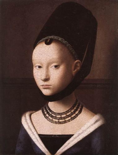 Portrait d'une jeune fille - Petrus Christus - 1460.jpg
