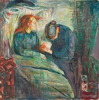 L'enfant malade - Munch -.jpg