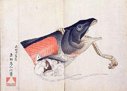 Hokusai- Saumon et souris.jpg