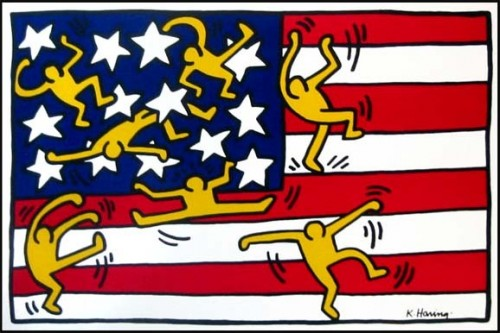 Drapeau-am-ricain-Keith-Haring.jpg