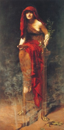 L'oracle de Delphes John Collier.jpg