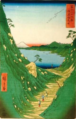 Le col shiojiri - Hiroshige - 1856.jpg