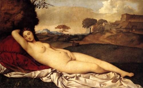 Vénus endormie - Giorgione -1510.jpg