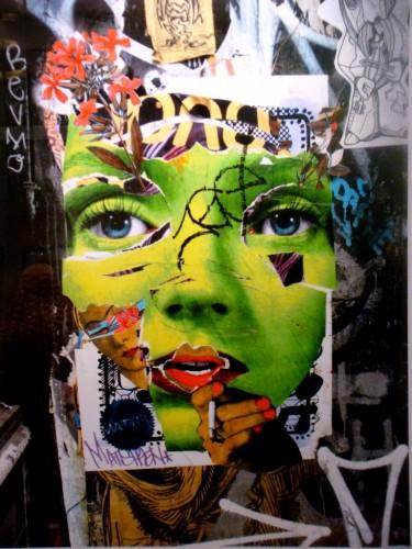 intérim,emploi,travail,ressources humaines,collage,négociation,économie,peinture,photo